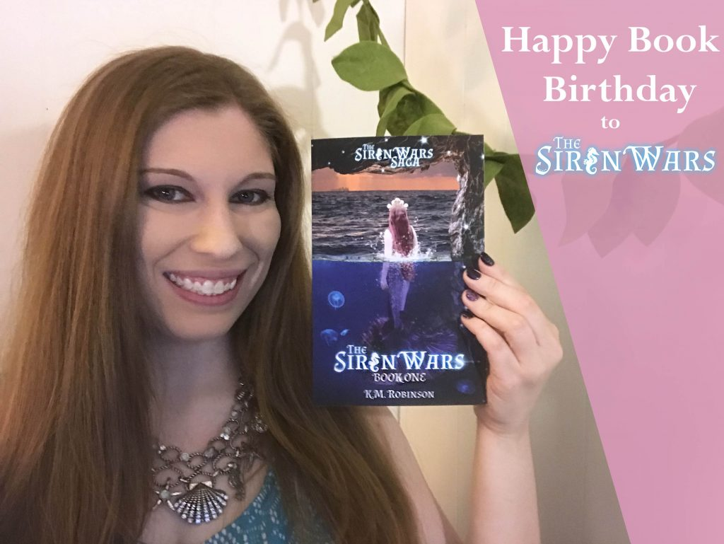 mermaid young adult novel siren wars saga